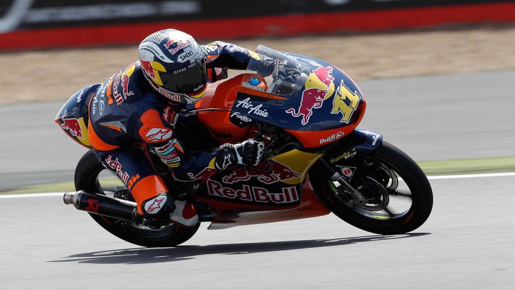Sandro Cortese, Red Bull KTM Ajo, Silverstone FP3
