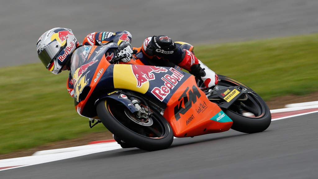 Sandro Cortese, Red Bull KTM Ajo, Silverstone QP