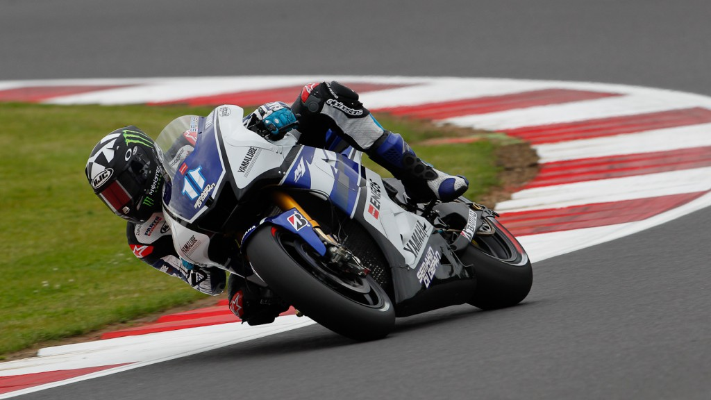 Ben Spies, Yamaha Factory Racing, Silverstone FP3