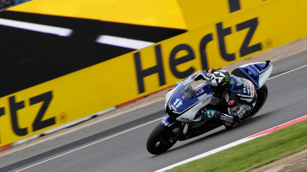 Ben Spies, Yamaha Factory Racing, Silverstone QP