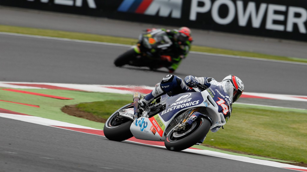 Randy de Puniet, Power Electronics Aspar, Silverstone QP