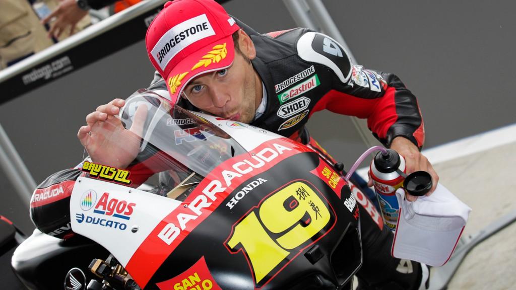 Alvaro Bautista, San Carlo Honda Gresini, Silverstone QP