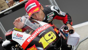 bautista reviews his first pole at silverstone