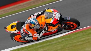 Dani Pedrosa, Repsol Honda Team, Silverstone QP