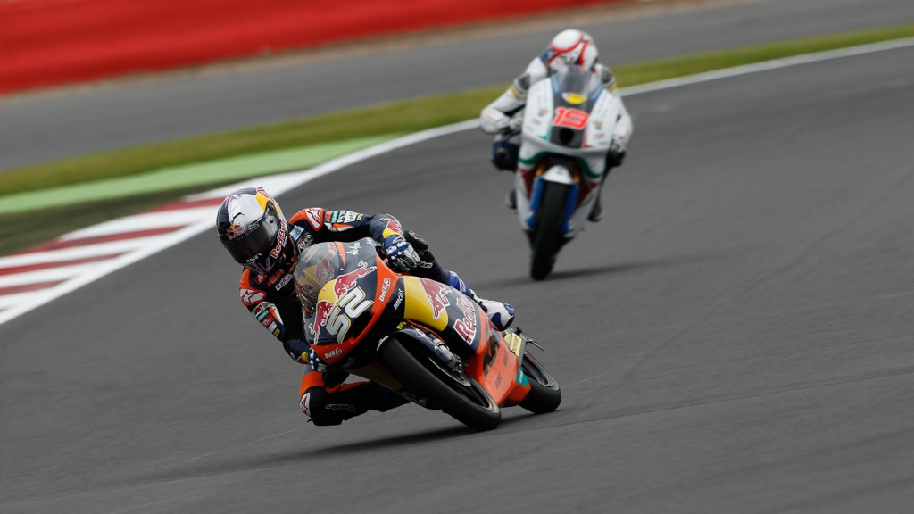 Danny Kent, Red Bull KTM Ajo, Silverstone FP3