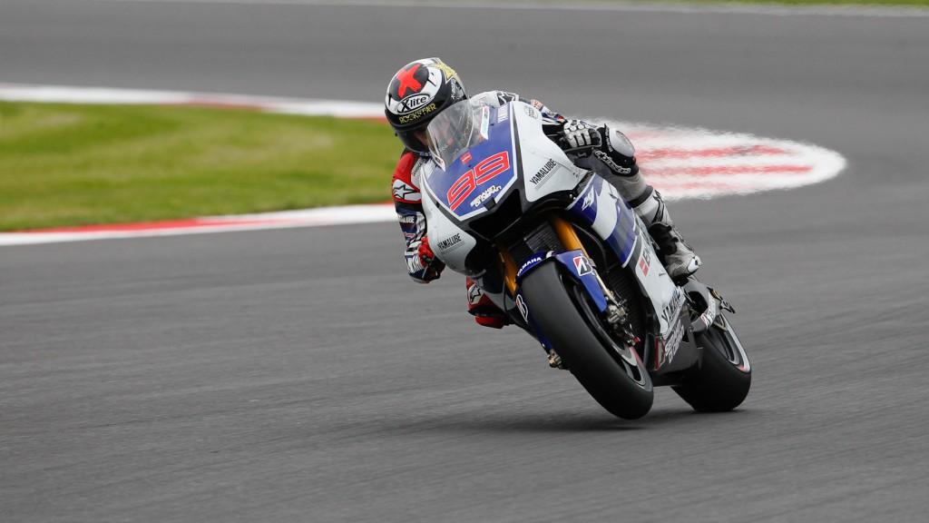Jorge Lorenzo, Yamaha Factory Racing, Silverstone QP