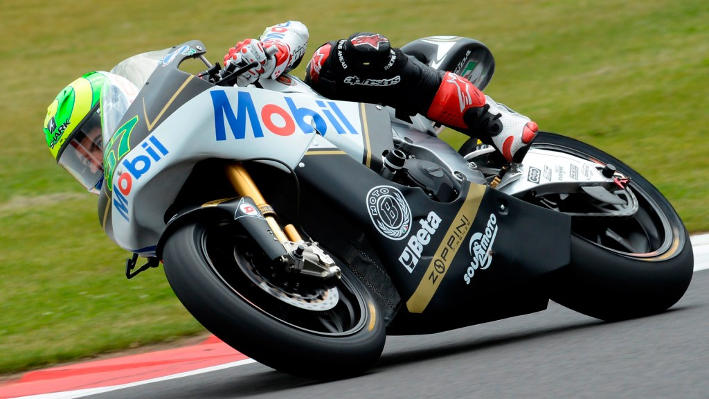 Eric Granado, JiR Moto2, Silverstone QP