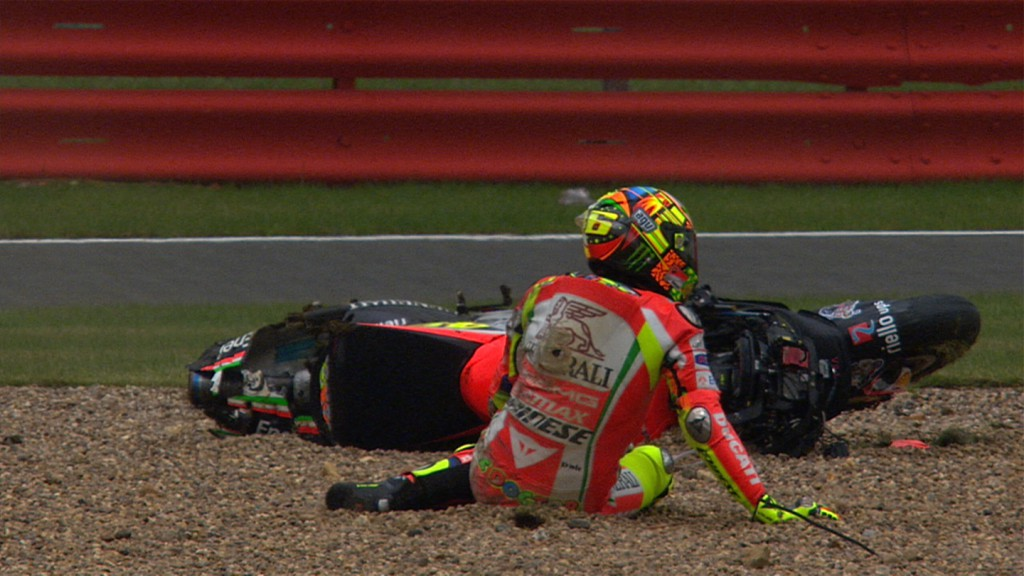 Valentino Rossi, Ducati Team - QP Crash
