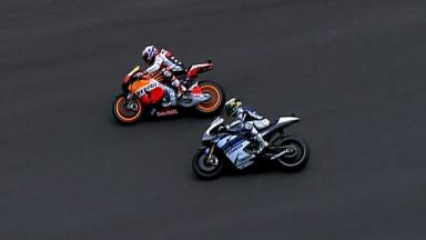 Silverstone 2012 - MotoGP - Race - Action - Lorenzo and Stoner