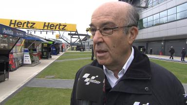 Dorna CEO Ezpeleta on possible rookie rule change
