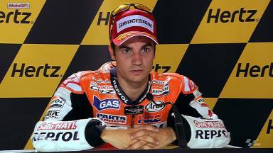 Silverstone 2012 - MotoGP - Race - Interview - Dani Pedrosa