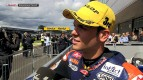Silverstone 2012 - Moto3 - Race - Interview - Sandro Cortese
