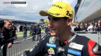 Silverstone 2012 - Moto3 - Race - Interview - Luis Salom