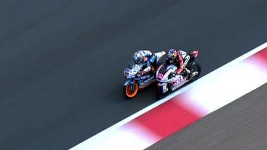 Silverstone 2012 - Moto3 - Race - Action - Race winning overtake