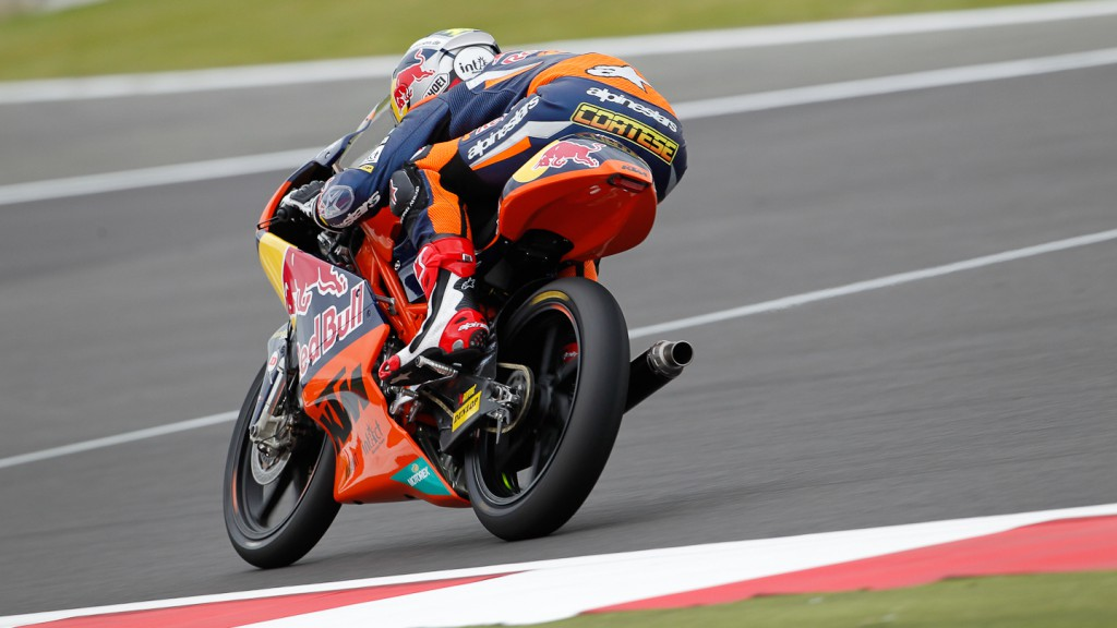 Sandro Cortese, Red Bull KTM Ajo, Silverstone WUP