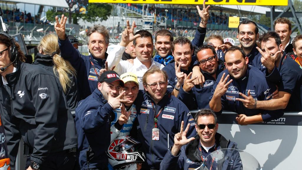 Maverick Viñales, Blusens Avintia, Silverstone RAC