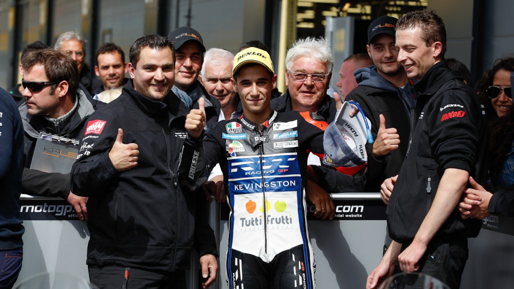 Luis Salom, RW Racing GP, Silverstone RAC