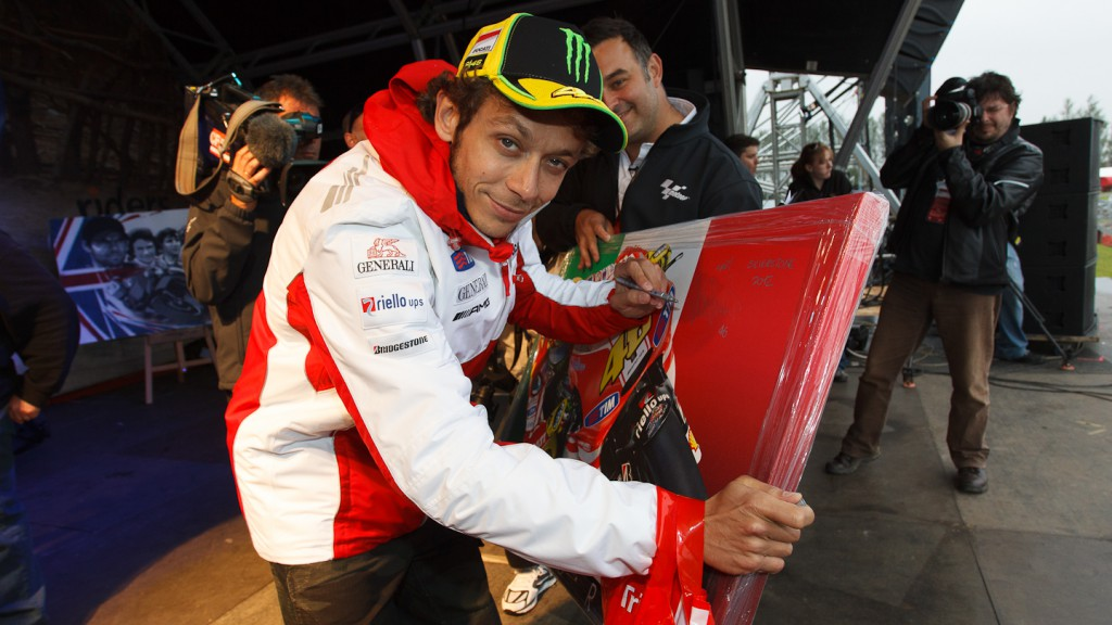 Valentino Rossi, Ducati Team, Day of Champions Silverstone