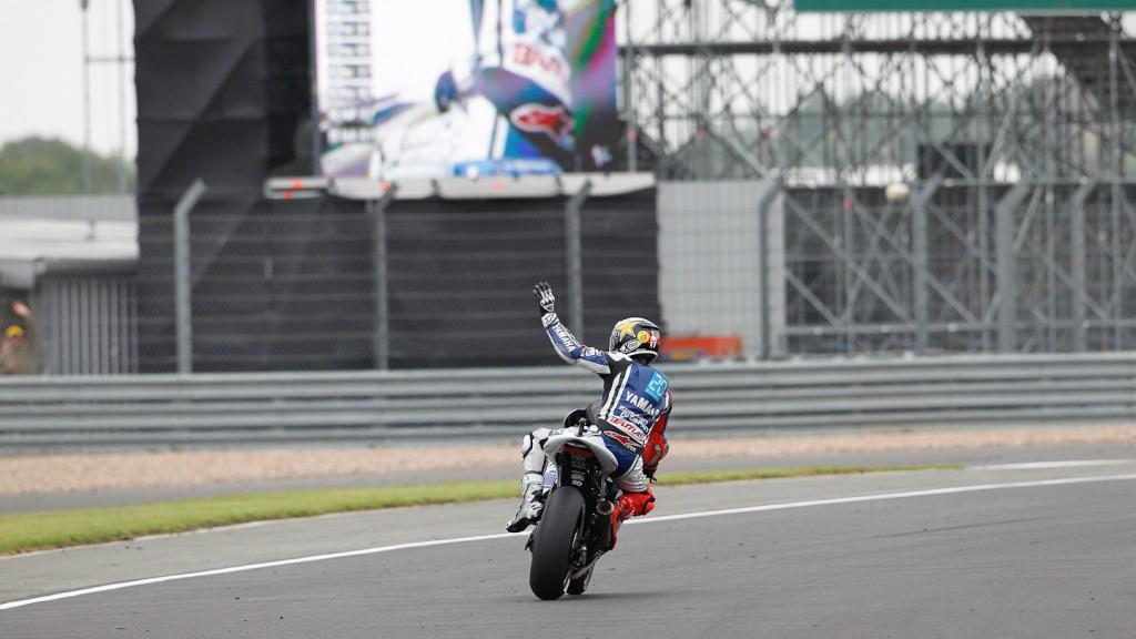 Jorge Lorenzo, Yamaha Factory Racing, Silverstone WUP