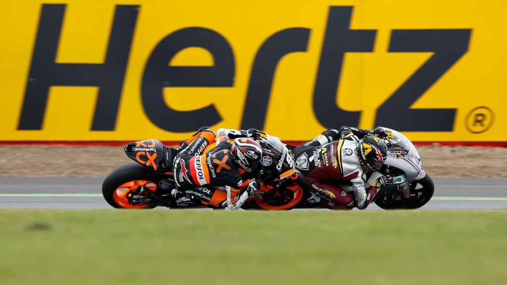 Marc Marquez, Scott Redding, Team CatalunyaCaixa Repsol, Marc VDS Racing Team, Silverstone RAC