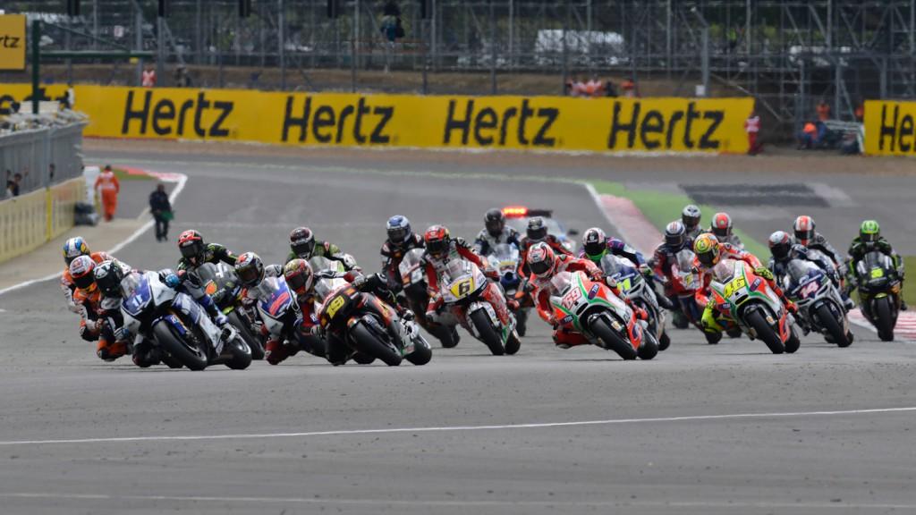 MotoGP, Silverstone RAC