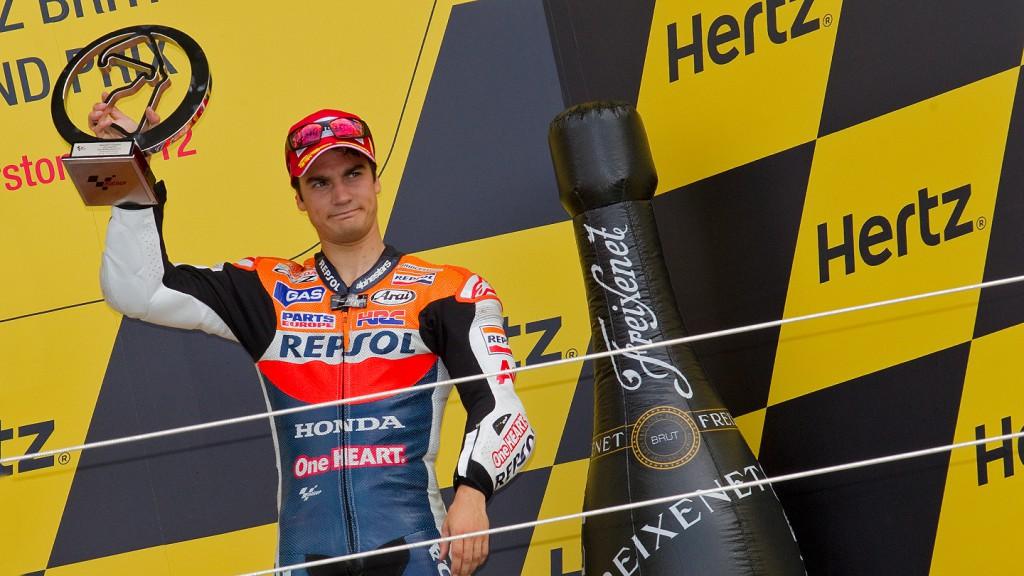 Dani Pedrosa, Repsol Honda Team, Silverstone RAC