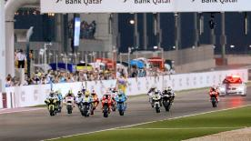 The re-scheduled first MotoGP race of 2009 saw Casey Stoner take victory at the Commercialbank Grand Prix of Qatar.