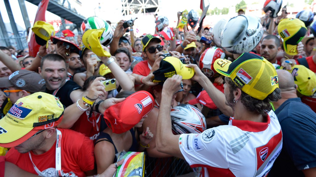 Valentino Rossi, Ducati Team, World Ducati Week