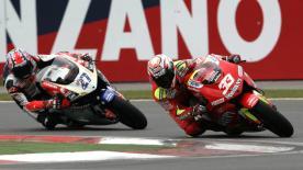 Melandri takes win on amazing day of MotoGP action