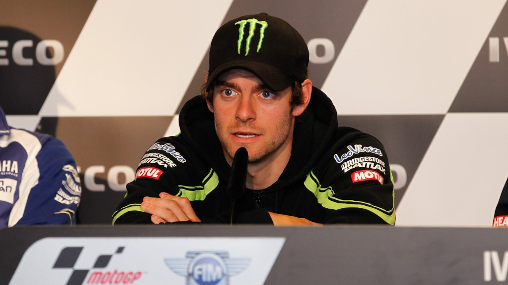 Cal Crutchlow, Monster Yamaha Tech 3, Iveco TT Assen Press Conference