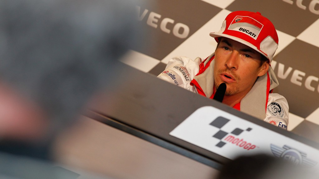 Nicky Hayden, Ducati Team, Iveco TT Assen Press Conference