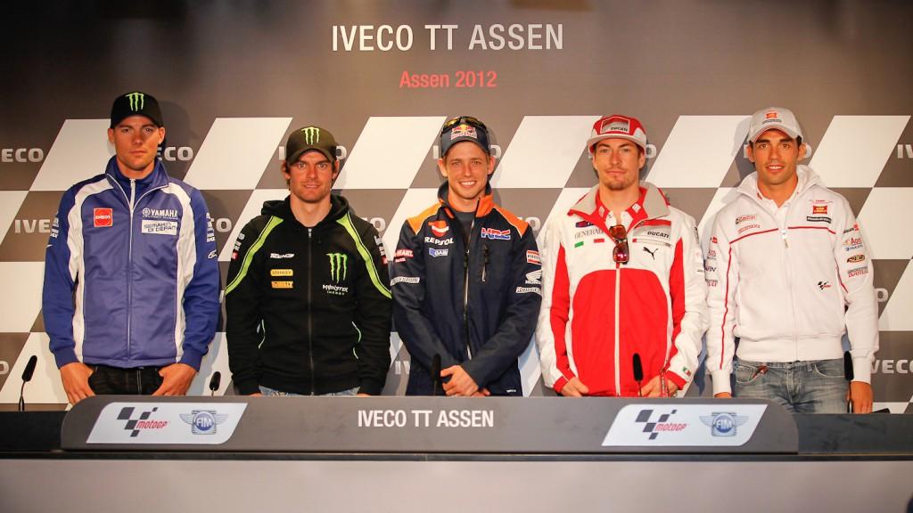 Iveco TT Assen Press Conference