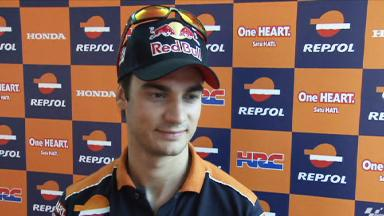 Pedrosa happy with base setting