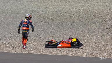 Assen 2012 - Moto3 - FP2 - Action - Sandro Cortese - Crash