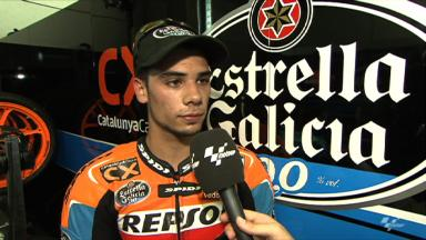 Oliveira pleased with first day of practice