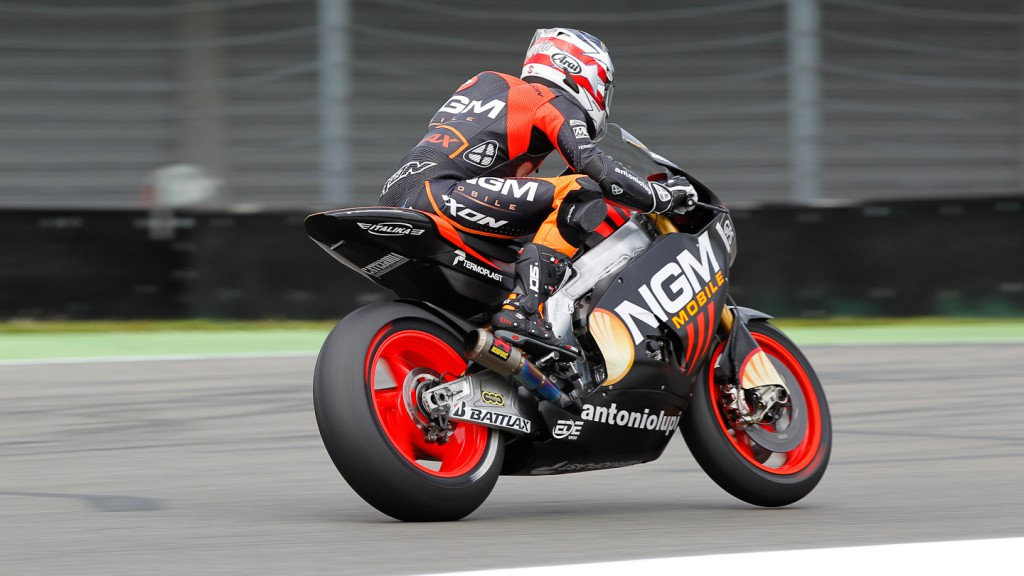 Colin Edwards, NGM Mobile Forward Racing, Assen FP2