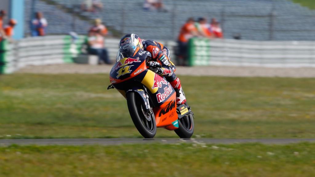 Sandro Cortese, Red Bull KTM Ajo, Assen FP1