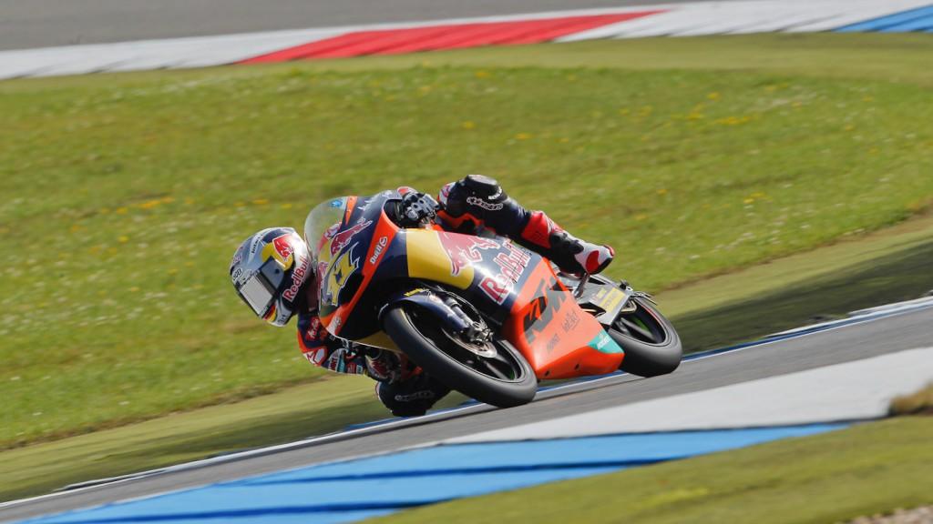 Sandro Cortese, Red Bull KTM Ajo, Assen FP2
