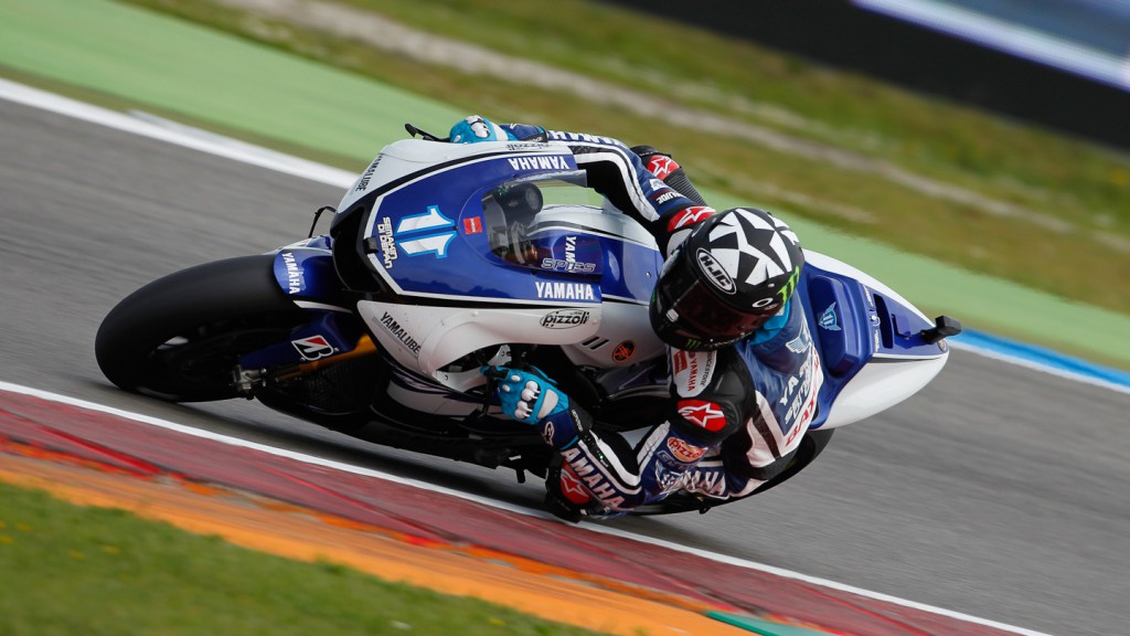 Ben Spies, Yamaha Factory Racing, Assen FP2
