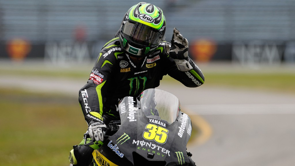 Cal Crutchlow, Monster Yamaha Tech 3, Assen FP2