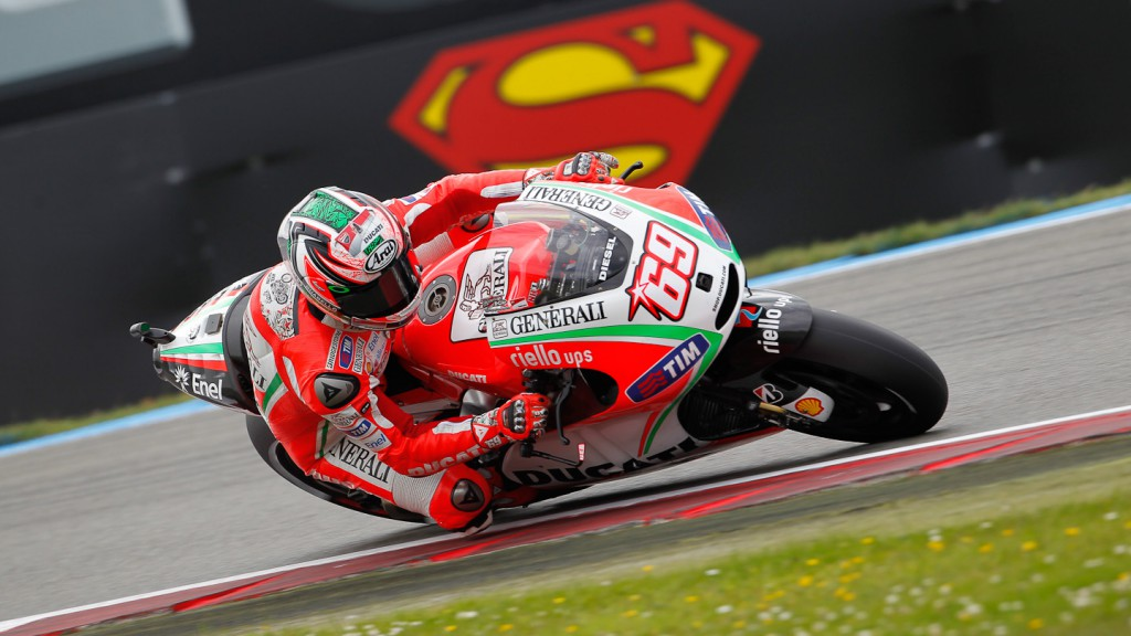 Nicky Hayden, Ducati Team, Assen FP2