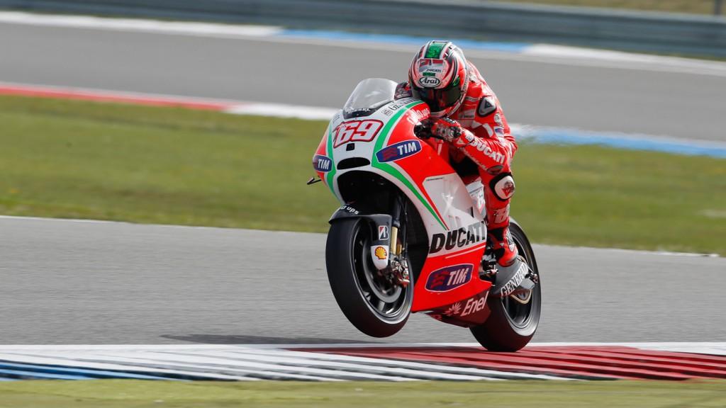 Nicky Hayden, Ducati Team, Assen FP1