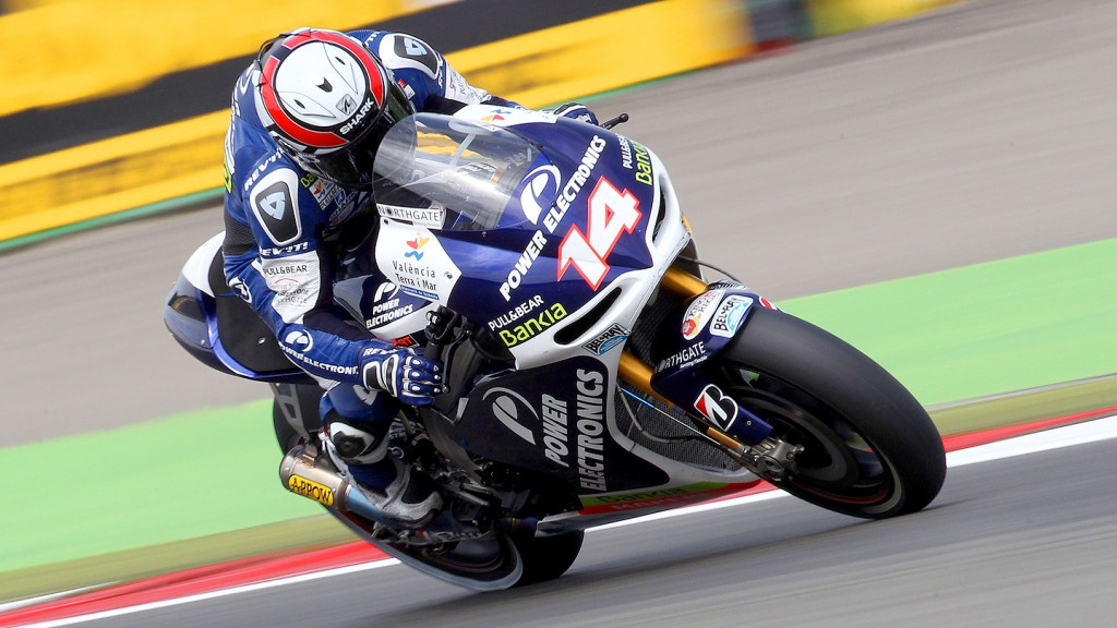 Randy de Puniet, Power Electronics Aspar, Assen FP2
