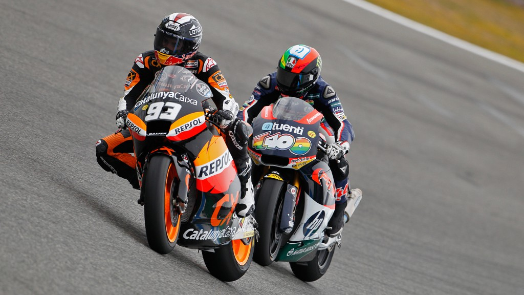 Marquez, Espargaro, Team CatalunyaCaixa Repsol, Pons 40 HP Tuenti