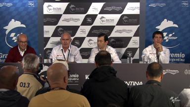 2012 Argentina GP Presentation Press Conference