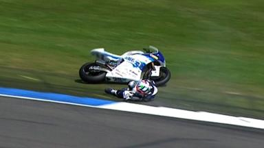 Assen 2012 - Moto2 - QP - Action - Claudio Corti - Crash