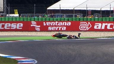 Assen 2012 - Moto2 - QP - Action - Marc Marquez - Crash