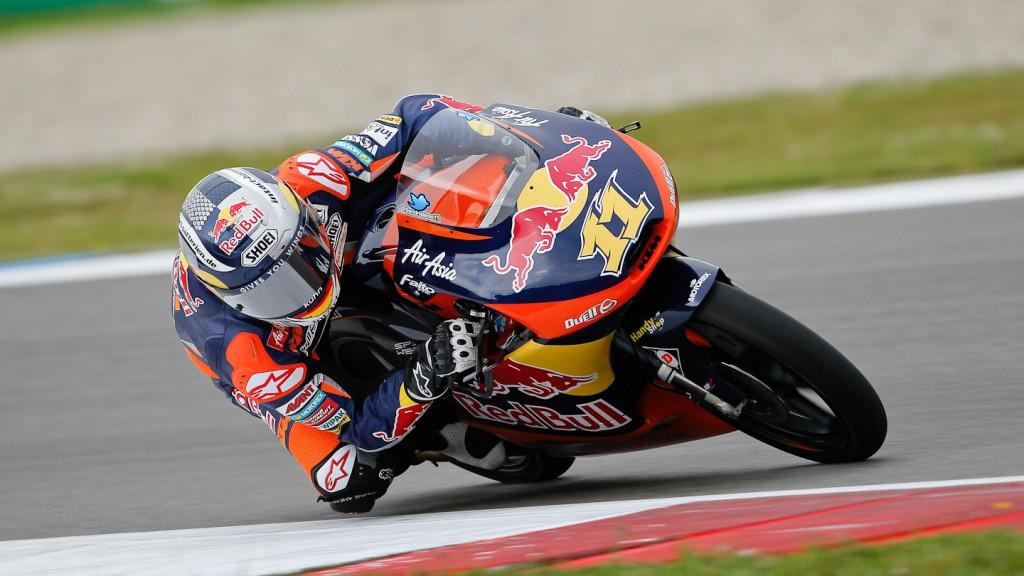 Sandro Cortese, Red Bull KTM Ajo, Assen QP