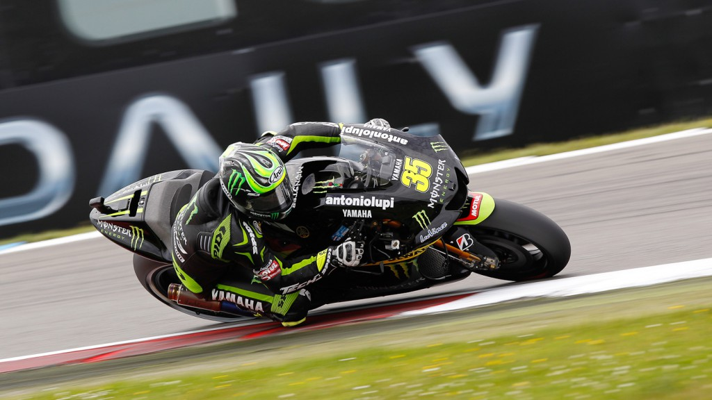 Cal Crutchlow, Monster Yamaha Tech 3, Assen QP
