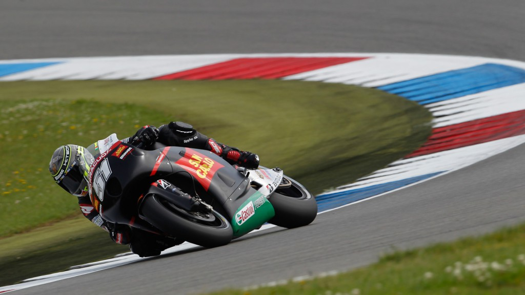 Michele Pirro, San Carlo Honda Gresini, Assen QP